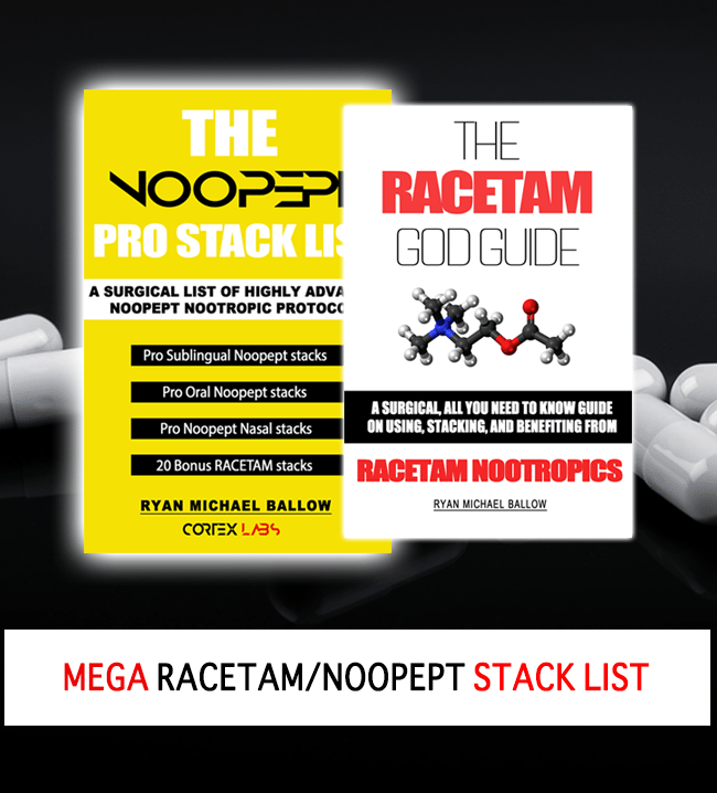 The Racetam And Noopept Nootropic Mega Stack List Combo